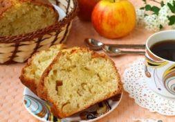 Изображение рецепта Манник с яблоками на кефире