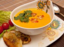 Изображение рецепта Сливочно-тыквенный суп