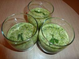 Изображение рецепта Овощной зелёный коктейль для иммунитета