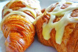 Изображение рецепта Круассаны с сыром из дрожжевого теста