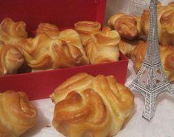 Изображение рецепта Французская булочка с кремом