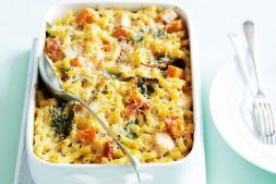 Изображение рецепта Запеканка с курицей и тыквой в духовке