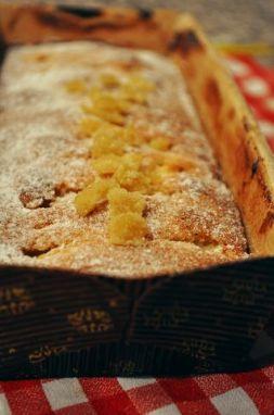 Изображение рецепта Бретонский пирог с яблоками и лимонными цукатами