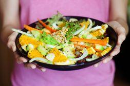 Изображение рецепта Салат из апельсина и авокадо