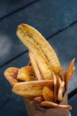Изображение рецепта Банановые чипсы