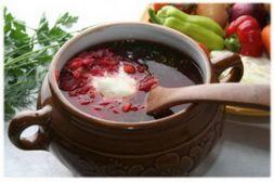 Изображение рецепта Борщ с кокосовым маслом