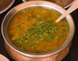 Изображение рецепта Гороховый суп-пюре с овощами (дал)