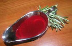 Изображение рецепта Брусничный соус с бальзамическим уксусом