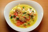 Суп из рыбных консервов с картофелем