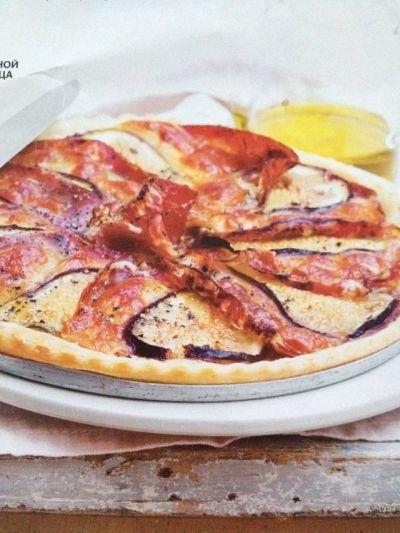 Изображение рецепта ''Тарт с инжиром, сыром и ветчиной''