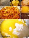 В большой миске соедините муку, топленое масло (75 гр.), желтки, 90 гр. чуть теплого молока, сахар, ром, ванильный сахар и дрожжи.