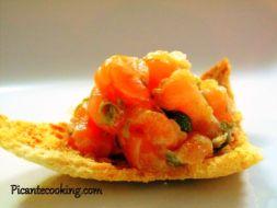 Изображение рецепта Тартар из лосося по версии Пикантэ!