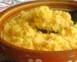 Изображение рецепта Пшенная каша с апельсиновым соком