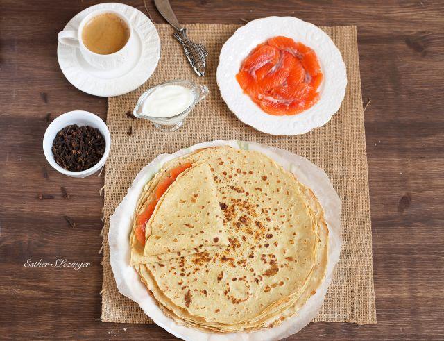 Блинчики завтрак фото рецепт