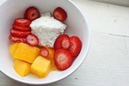 Изображение рецепта Творог с фруктами
