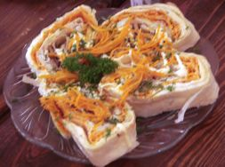 Изображение рецепта Рулет в лаваше