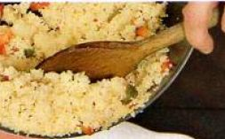 Изображение рецепта Начинка из кускуса и ветчины