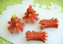 Изображение рецепта Съедобные крабики и осминоги