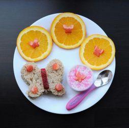 Изображение рецепта Завтрак «Бабочка»
