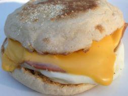 Изображение рецепта Сэндвич с яйцом в микроволновке за 2 минуты