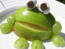 Изображение рецепта Лягушка из яблока