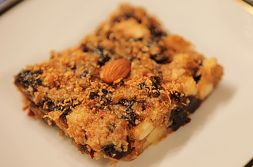 Изображение рецепта Яблочно-финиковое пирожное
