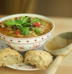 Изображение рецепта Овощной суп Минестроне по-французски