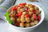 Изображение рецепта Салат из нута с имбирной заправкой