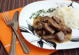 Изображение рецепта Говядина тушеная на сковороде