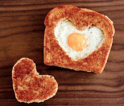 Изображение рецепта Завтрак к 14 февраля