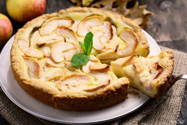 Цветаевский пирог с яблоками пошаговый рецепт с фото