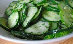 Изображение рецепта Салат из свежих огурцов по-шведски