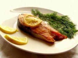 Изображение рецепта Форель с лимоном в духовке
