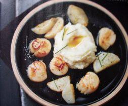 Изображение рецепта Морские гребешки с топинамбуром