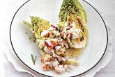 Салат с крабами и эстрагоном