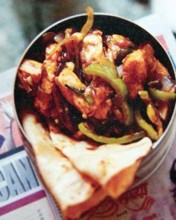 Изображение рецепта Панир тикка масала (масала с сыром и овощами)