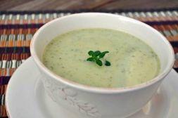 Изображение рецепта Суп-пюре из цветной капусты и кабачка