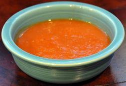 Изображение рецепта Вегетарианский суп-пюре из тыквы