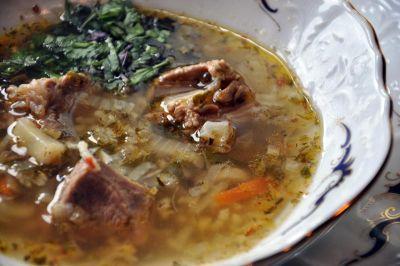 Изображение рецепта ''Традиционный суп харчо''