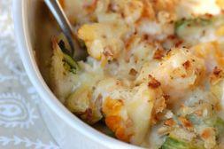 Изображение рецепта Цветная капуста с яйцом и сыром.