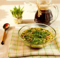 Изображение рецепта Окрошка классическая с колбасой
