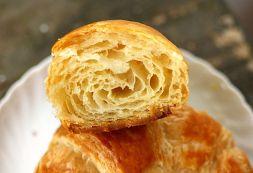 Изображение рецепта Слоеное дрожжевое тесто для круассанов