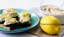 Изображение рецепта Паста из копченой скубрии с хреном