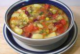 Изображение рецепта Фасолевый суп с перцем и кукурузой