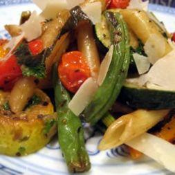 Изображение рецепта Паста со стручковой фасолью