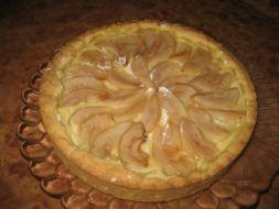 Изображение рецепта Постный пирог с грушами