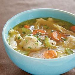 Изображение рецепта Картофельный суп с галушками