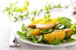 Изображение рецепта Салат с курицей и апельсинами