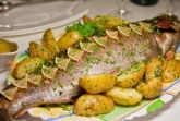 Изображение рецепта Форель, запеченная с картофелем