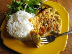 Изображение рецепта Рыба под омлетом.